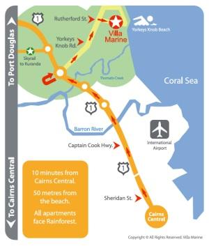 MAP VILLA MARINE BROCHURE Revision - Villa Marine Location