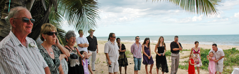 Beach weddings Cairns