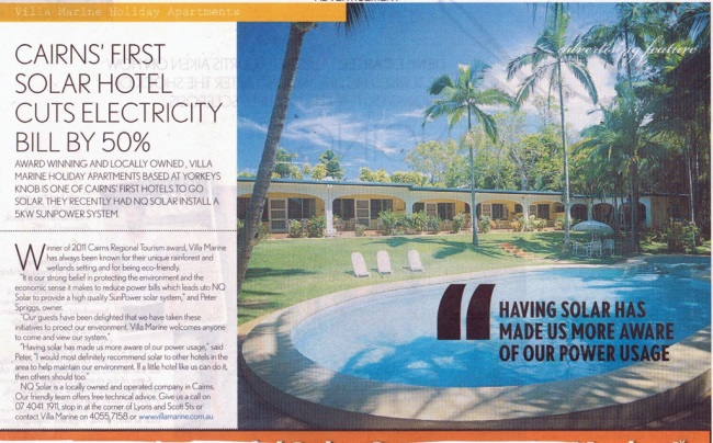Eco Friendly Accommodation - Magazine Article