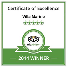 TripAdvisor Certificate of Excellence 2012/2013/2014