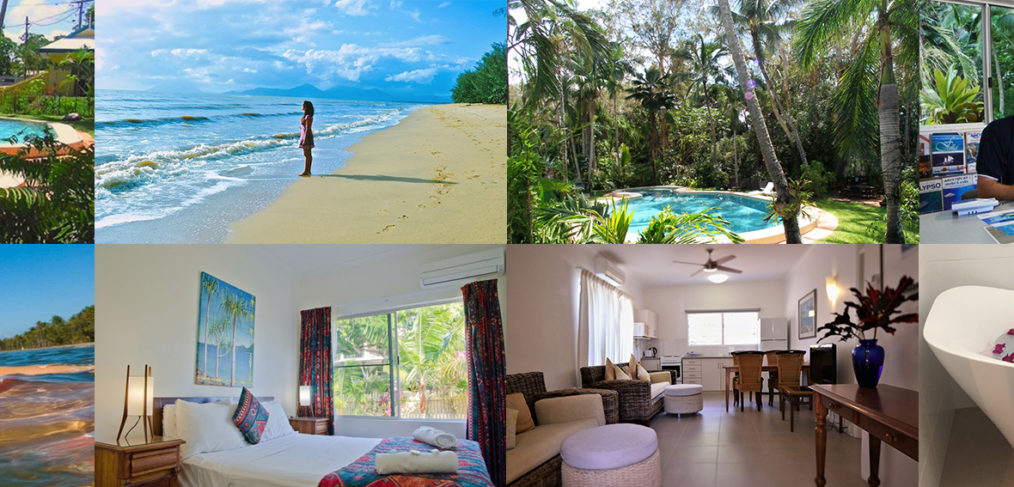 Villa Marine Cairns 2 bedroom apartment collage