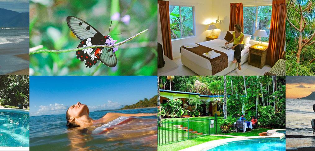 Villa Marine Cairns Honeymoon apartment collage