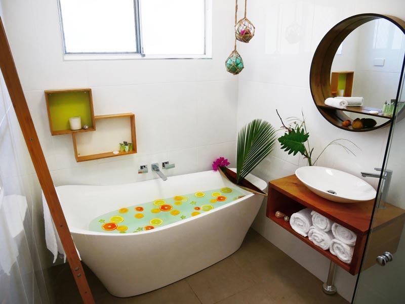 new bath room at Villa Marine