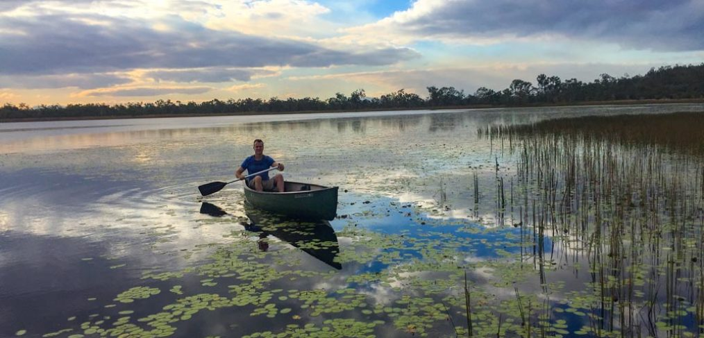 Mareeba Wetlands kayaking Villa Marine