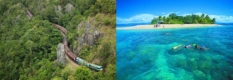 Kuranda, snorkeling All Cairns Tours